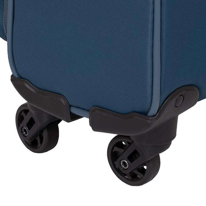 Palubný tyrkysový kufor na kolieskach roncato, modrá, 969-9723 - 16
