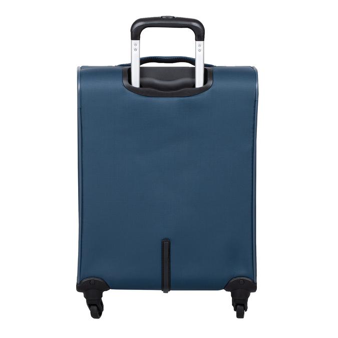 Palubný tyrkysový kufor na kolieskach roncato, modrá, 969-9723 - 26