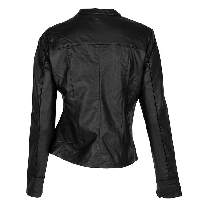 Čierna dámska bunda s vreckami bata, čierna, 971-6195 - 26