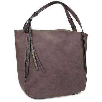 Hnedá kabelka so strapcami gabor-bags, hnedá, 961-4019 - 13