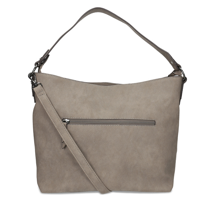 Béžová kabelka s metalickými detailami gabor-bags, béžová, 961-8001 - 16