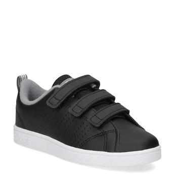 Detské čierne tenisky na suchý zips adidas, čierna, 301-6268 - 13