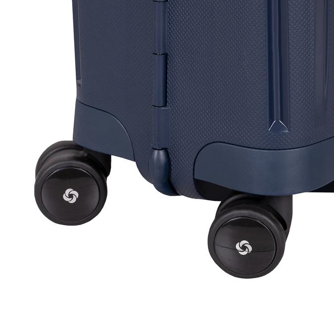 Kvalitný škrupinový kufor samsonite, modrá, 960-9321 - 16
